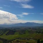 Panorama del Piceno da Acquaviva